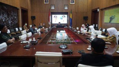 Anggota DPRD Provinsi Jawa Barat daerah Pemilihan I (Kota Bandung & Cimahi) melakukan pertemuan dengan Walikota Bandung, Oded M.Danial