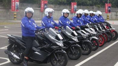 Pemerintah Kota (Pemkot) Bandung terus gelorakan kampanye keselamatan berkendara (safety riding).