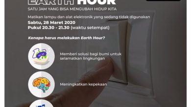 Pemerintah Kota (Pemkot) Bandung kembali mengampanyekan Earth Hour untuk melindungi bumi dari penggunaan energi yang berlebihan.