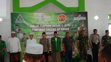 Diklat Terpadu Dasar II dibuka oleh Sekretaris PBNU Propinsi Kalimantan Selatan yang juga Wakil Bupati Hulu Sungai Tengah Berry Nahdian Forqan.