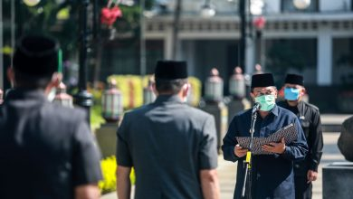 Walikota Bandung, Oded M. Danial Gelar Pelantikan di Plaza Balai Kota