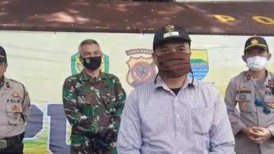 Sinergiritas tiga antara TNI, POLRI dan Pemerintahan dalam Giat Dapur Umum Polrestabes Bandung