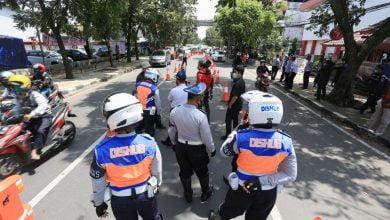 survei yang dilakukan oleh Dinas Perhubungan Kota Bandung pada pelaksanaan Pembatasan Sosial Berskala Besar (PSBB) Kota Bandung.