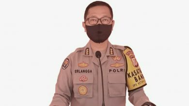 Kabid Humas Polda Jabar Kombes Pol. Drs. S. Erlangga