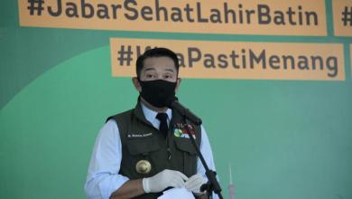 "Gubernur Jawa Barat M. Ridwan Kamil, menegaskan ""Salah satu tugas utama adalah menjaga pergerakan di perbatasan. Kalau dulu perbatasannya antar provinsi, kalau sekarang perbatasannya antar kota kabupaten juga harus lebih ketat,"""