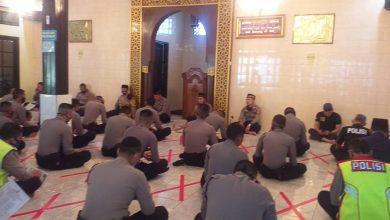 Polrestabes Laksanakan Bintal, Kamis, 18 Juni 2020, bertempat di Masjid As Syuhada Jl. Nias Bandung