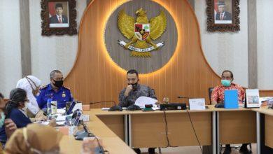 Pansus 1 DPRD Kota Bandung menggelar rapat kerja, di Ruang Rapat Bamus DPRD Kota Bandung, Selasa, (14/7/2020).