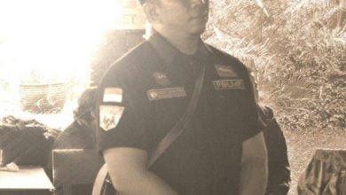 Ketua Laskar Merah Putih (LMP) Kota Cimahi Dieky Surachman
