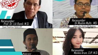 Posmo indonesia foundation menggelar diskusi virtual dengan tema Pancasila dan masa depan demokrasi di indonesia, Rabu 5/8.