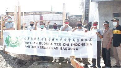 Pemerintah Kelurahan Campaka, Kecamatan Andir, Kota Bandung berkolaborasi dengan Yayasan Buddha Tzu Chi Indonesia Kantor Perwakilan Kota Bandung merenovasi empat unit rumah tidak layak huni (Rutilahu) di RW 07 dan 06 Kelurahan Campaka.