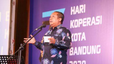Wakil wali kota bandung yana mulyana saat launching program sejuk