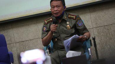 Sekretaris Satpol PP Kota Bandung, Slamet Agus Priono