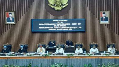 Rapat Paripurna Istimewa Hari Jadi ke-210 Kota Bandung (HJKB) DPRD Kota Bandung