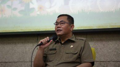 Kepala Dinsosnangkis Tono Rusdiantono dalam Bandung Menjawab di Balai Kota Bandung, Selasa, 20 Oktober 2020.