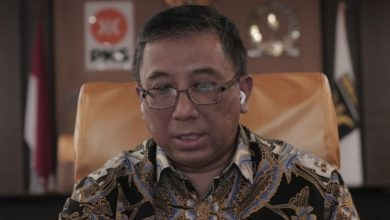 Ketua DPW PKS Jabar yang juga Ketua Fraksi PKS DPRD Jabar, Haru Suandharu