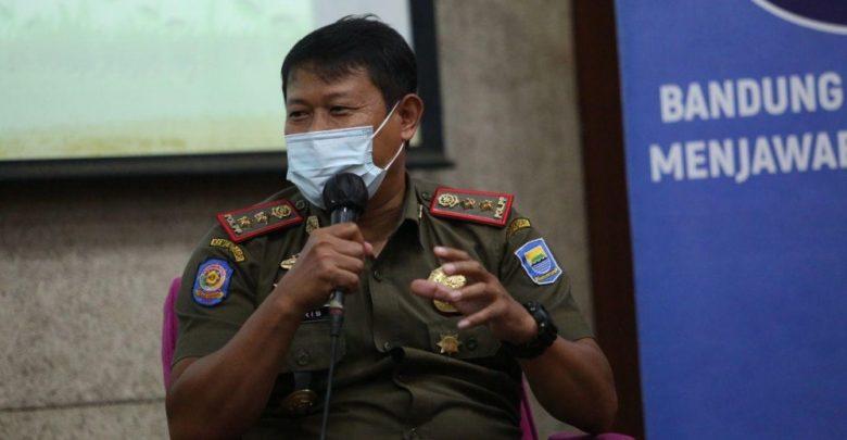 Kepala Bidang Penegakan Produk Hukum Daerah Satpol PP Kota Bandung, Idris Kuswandi.